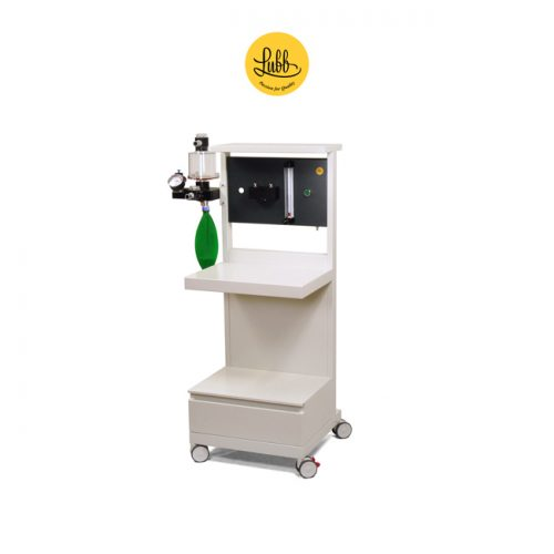 Lubb Veterinary Anaesthetic Trolley S4