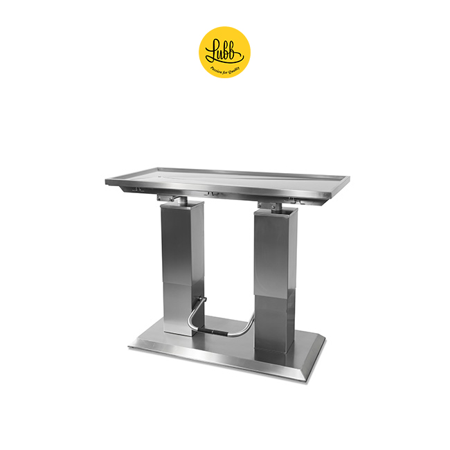 Hydraulic 2 column stainless steel surgery table with V top-6