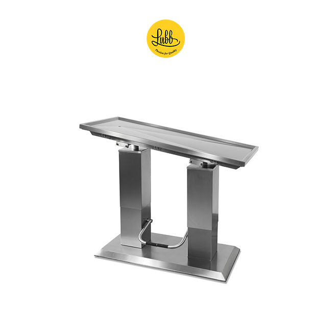 Hydraulic 2 column stainless steel surgery table with V top-5