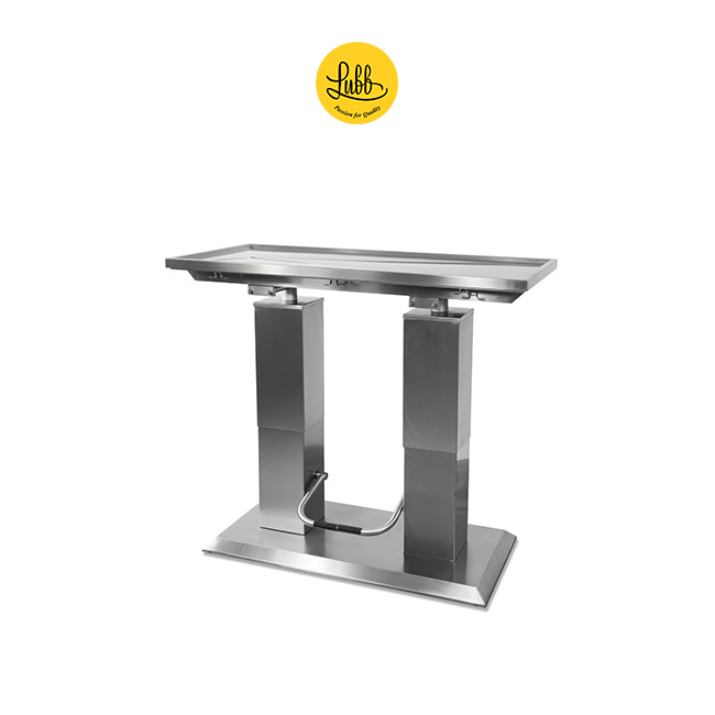 Hydraulic 2 column stainless steel surgery table with V top-3