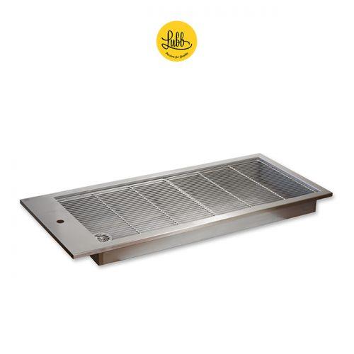 Stainless steel veterinary tub sink
