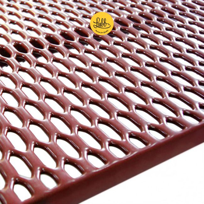 PVC coated grid for veterinary cages