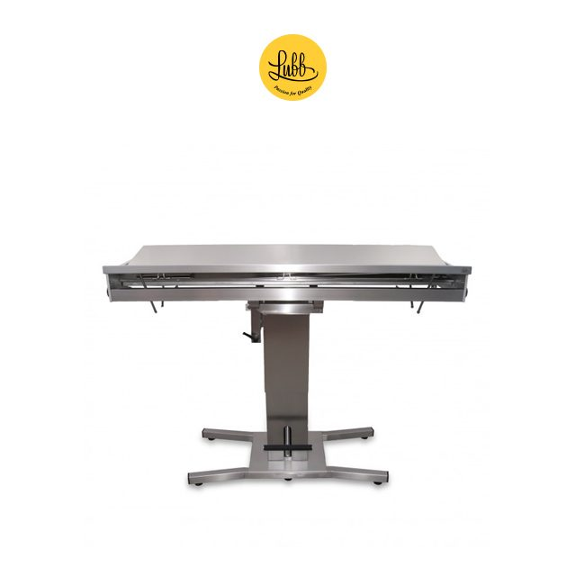 Hydraulic column stainless steel surgery table with V-shaped top