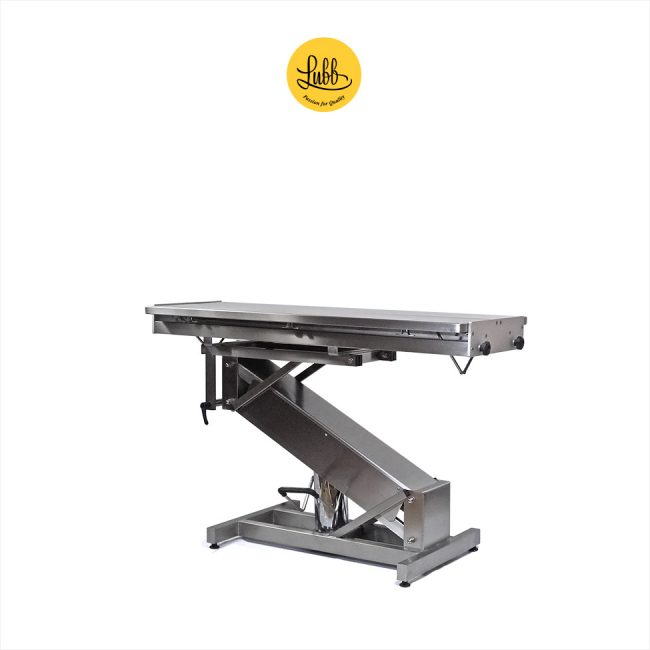 Hydraulic stainless steel surgery table Z structure and V top