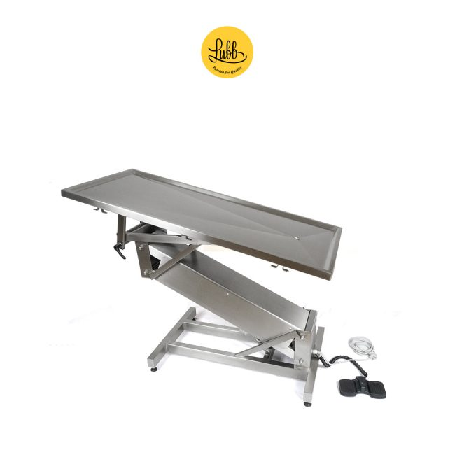 Hydraulic column stainless steel surgery table with flat top