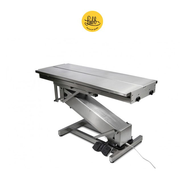 Electric surgery table with stainless steel Z structure and V top