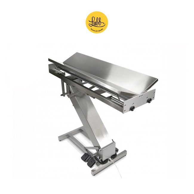 Electric stainless steel surgery table Z structure and V top