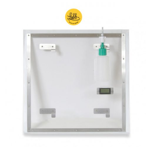 Oxygenation door for stainless steel internment cages cages
