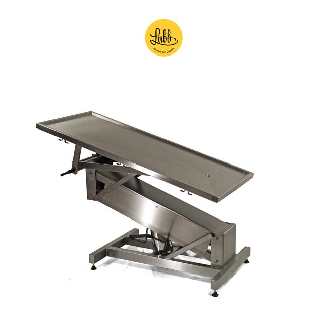 Hydraulic stainless steel surgery table Z structure and flat top