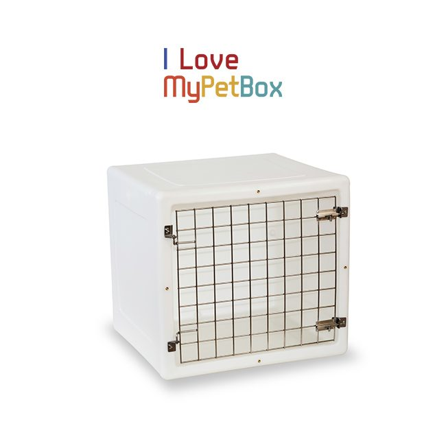 ILoveMyPetBox Cages - White with Basic Door