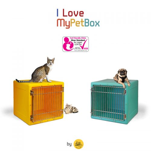 ILoveMyPetBox modular plastic veterinary cages by Lubb