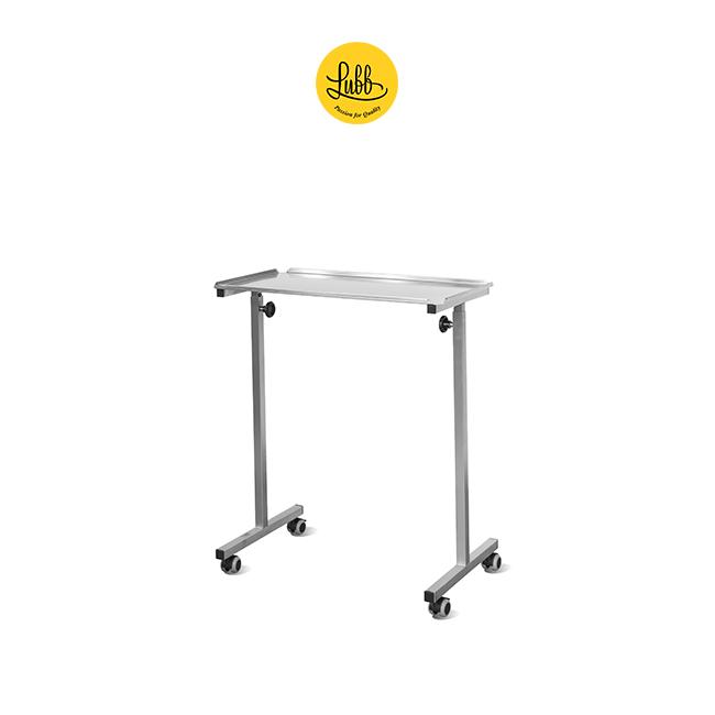 Veterinary bridge height-adjustable table