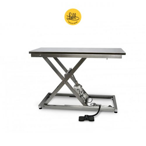 Veterinary electric exploration table