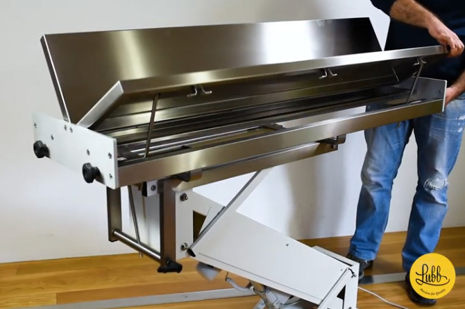 "Video - Electric Surgery Tables with ""V"" Top"