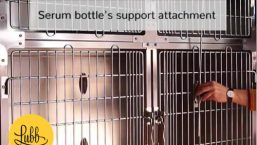 Veterinary stainless steel cages – Serum Support