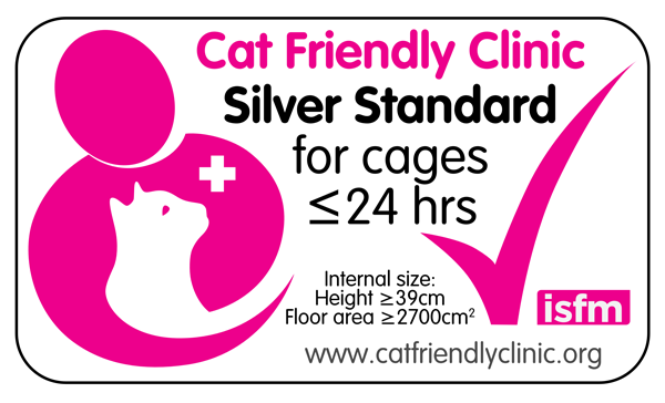 ISFM - Cat Friendly Clinic - Silver Standard Cages